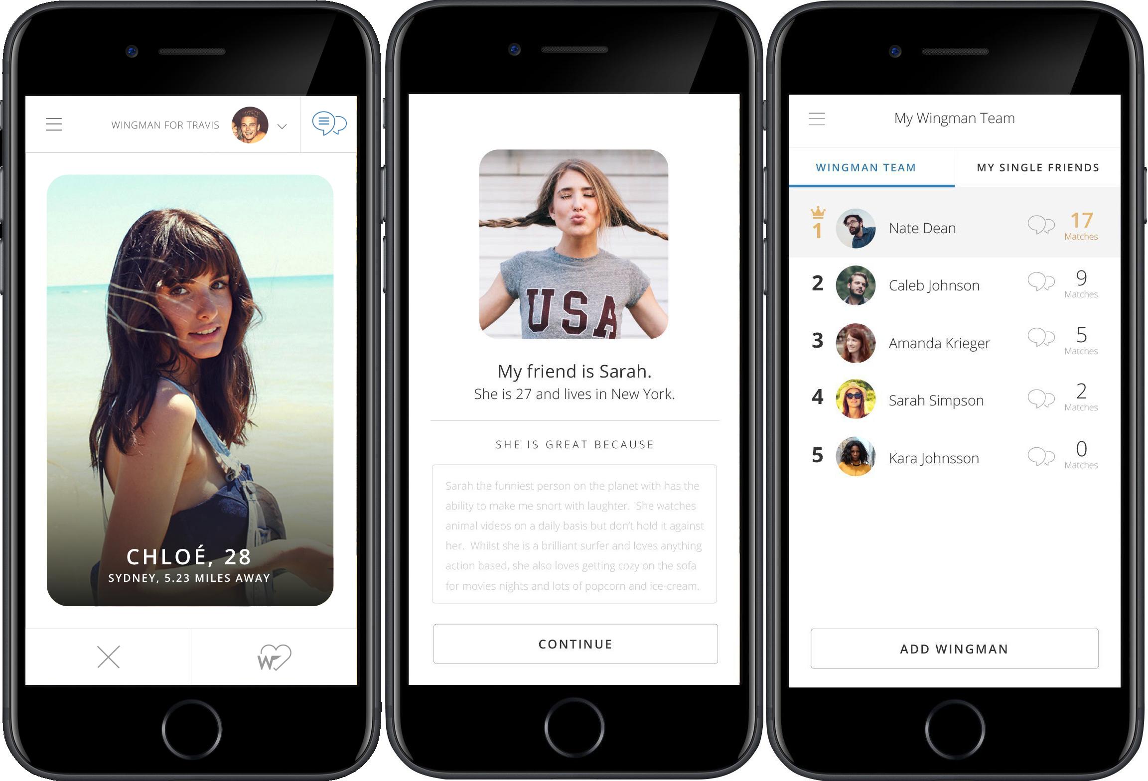 В Англии создали приложение для поиска 2-ой половинки другу