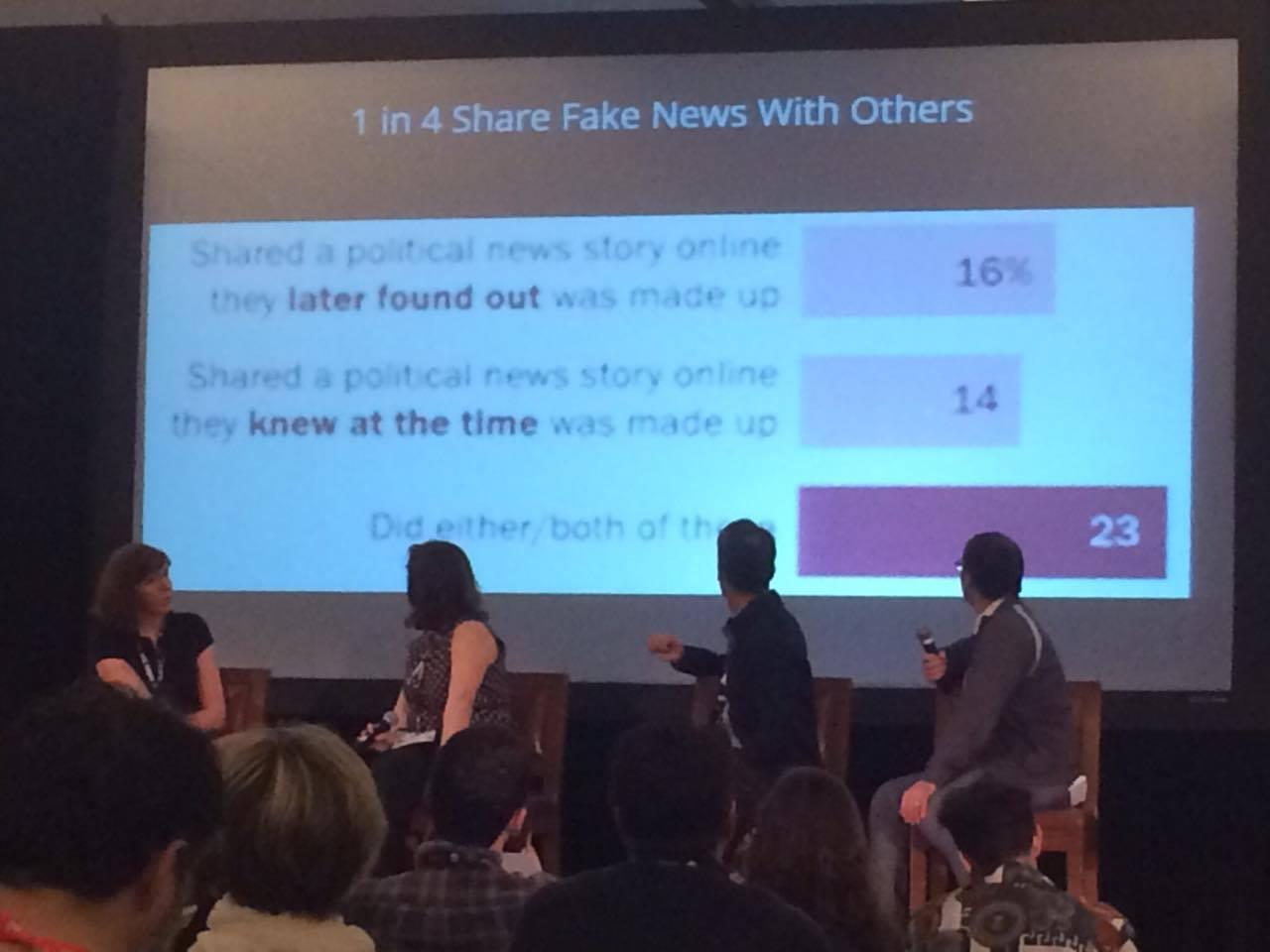 Дискуссия о фейковых новостях