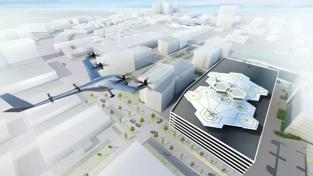Uber планирует к 2020-ому сделать летающий автомобиль