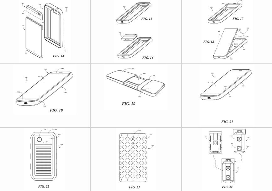 Google запатентовала телефон-конструктор