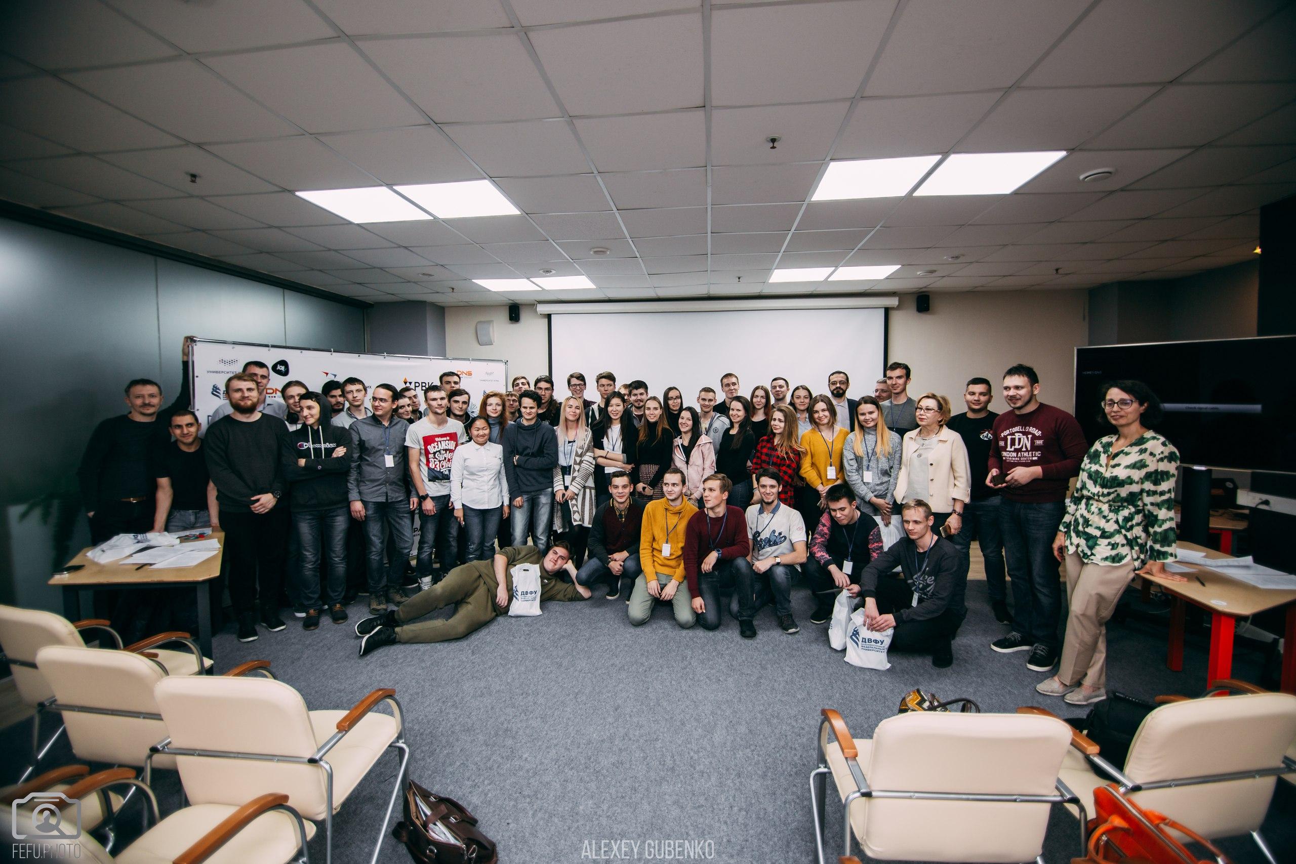 Участники из Владивостока
