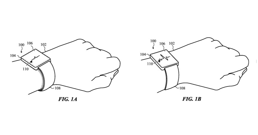 Apple запатентовала самозастегивающиеся «умные часы»