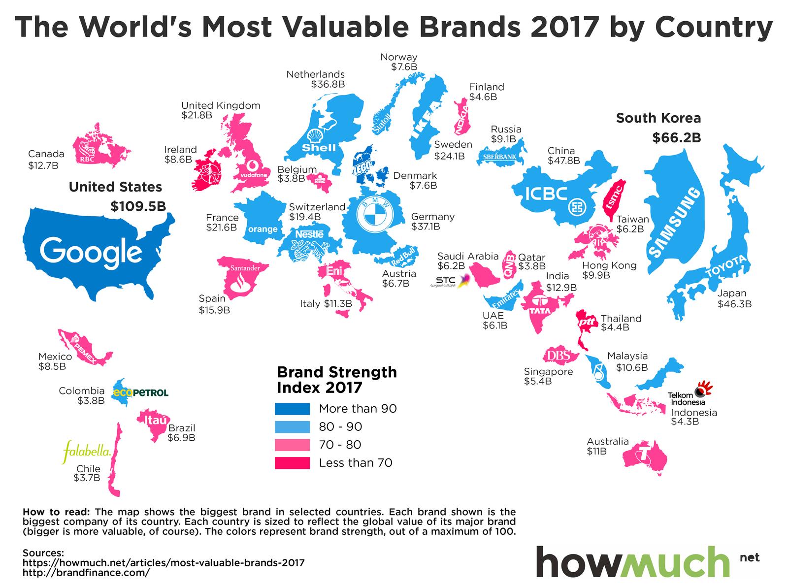 Размещен рейтинг самых дорогих автомобильных брендов 2018 года